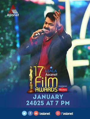 Asianet Film Awards 2015 Telecast Today and Tomorrow (24 & 25)