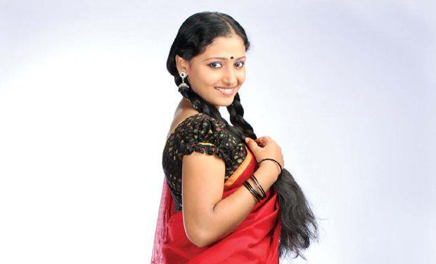 Anu Sithara in younger days