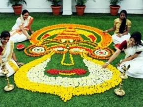 Onam Celebrations Pookkalam2