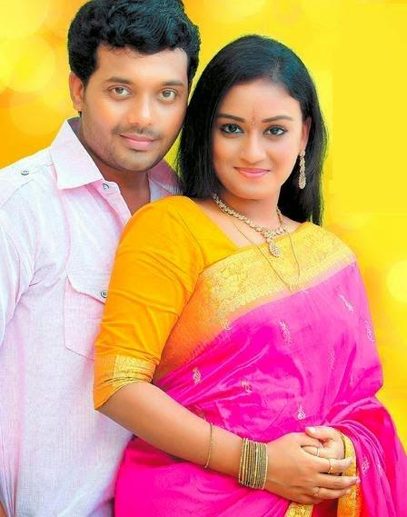 Marriage photo of Amala Serial Actress Varadha and Actress Jishi Mohan