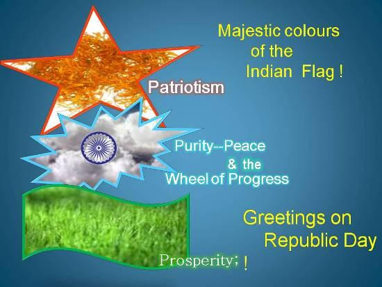 Republic Day of India 2011 Wall Poster