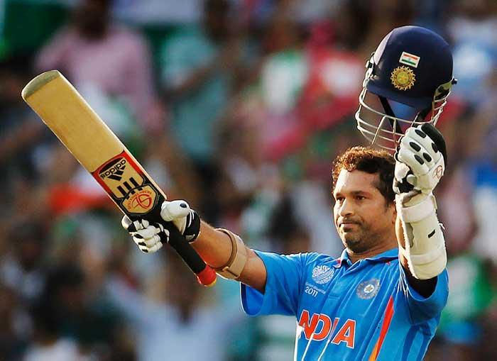 Sachin Second Century in ICC World Cup 2011