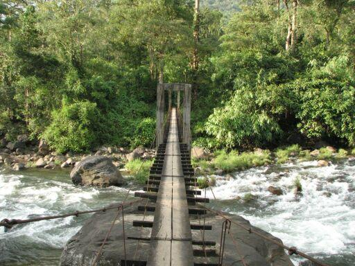 chimmony wildlife sanctuary trekking