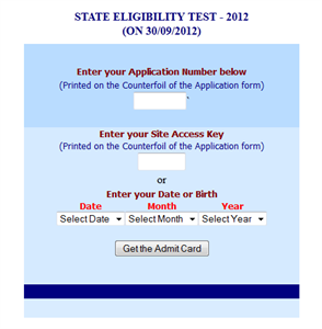 Kerala SET Exam 2012 Hall Ticket available at LBS Website
