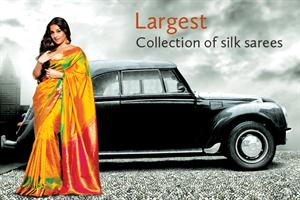 Jolly Silks – New fashion destination with Vidya Balan as brand ambassadress