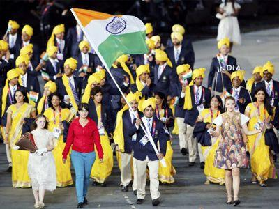 India march pass in London Olympics