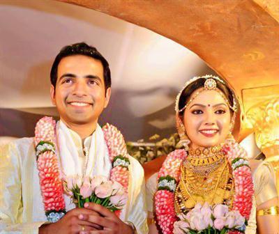 Samvritha Sunil - Akhil Raj Marriage Photos