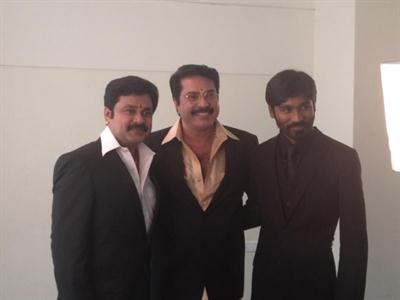 Mammootty, Dileep and Dhanush in Kamath and Kamath