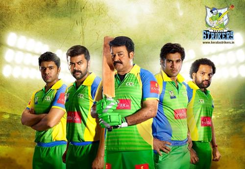 CCL Kerala Strikers announce 20 member squad Celebrity ...